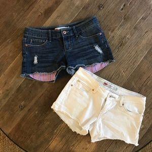 LEVIS short shorts - lot of 2
